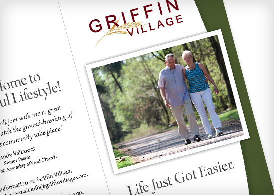 Griffin Village Response Card Mailer
