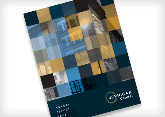 Jernigan Capital Annual Report Covers