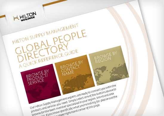 Hilton Supply Management Global People Directory