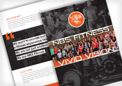 NBS Fitness – Vision Document 2020