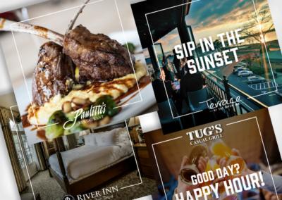 River Inn Brands – Social Media